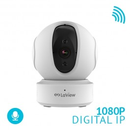 ONE PT 1080P Indoor Pan-Tilt Auto-Tracking Wi-Fi Wireless Security IP Camera