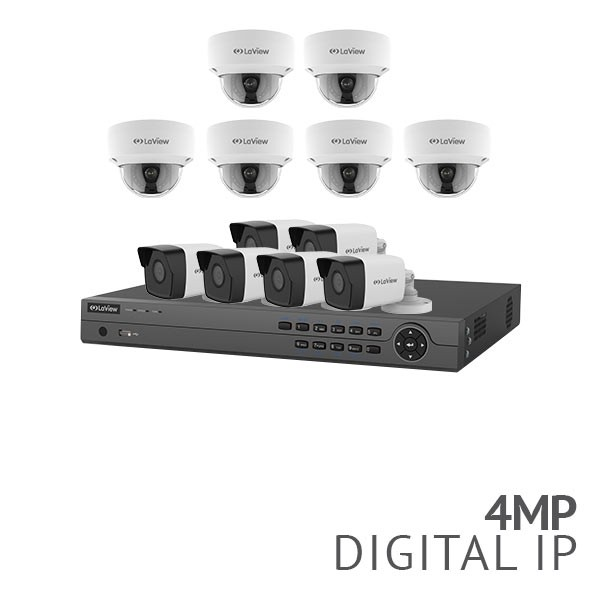 ​16 Channel 4K NVR Security System with 12x 4MP HD IP Cameras​