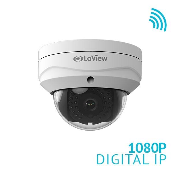 1080P 2MP HD PoE IK10 IP67 2.8mm wide angle Dome IP Camera with optional WiFi