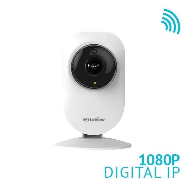 1080P WiFi 185° Ultra-Wide Angle Security Camera