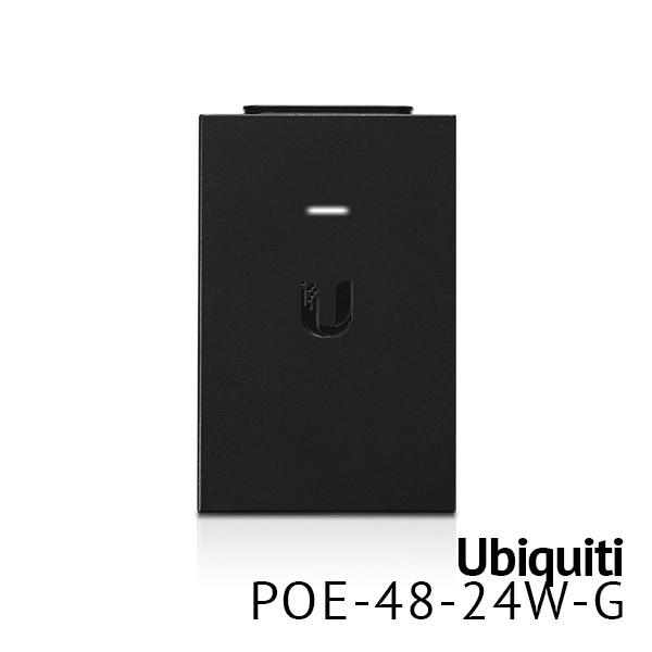PoE Injector, 48VDC, 24W (RocketTi, UAP-Pro)