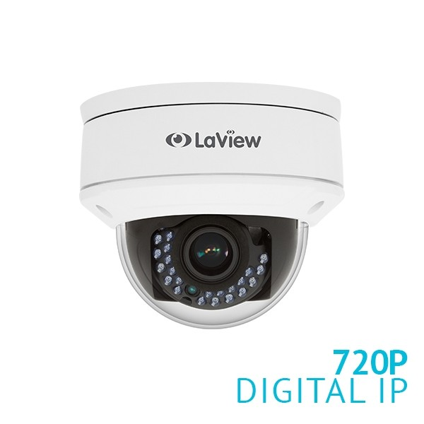 720P 1.3MP Varifocal Dome IP Surveillance Camera