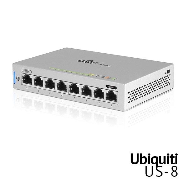 8 Port Managed Switch