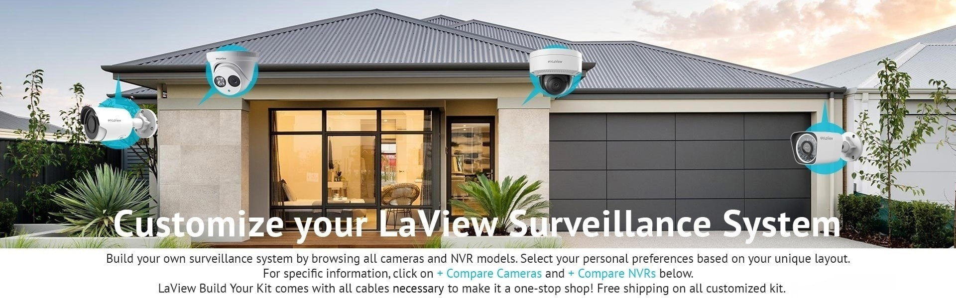 Laview Build Your Kit Customize Your Security Camera System