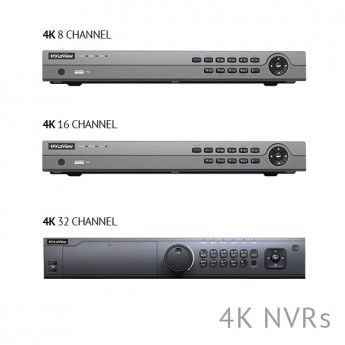 Network Video Recorder with 4K Output