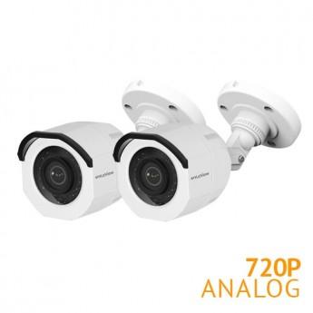 2x HD 720P Bullet Camera