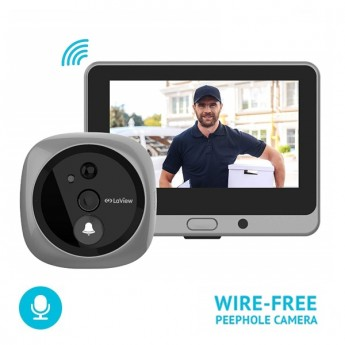 LaView HD IP ONE Halo Doorbell Security Camera
