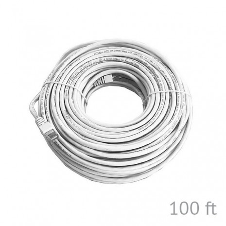 100ft Cat5e Pre-made Network Cable