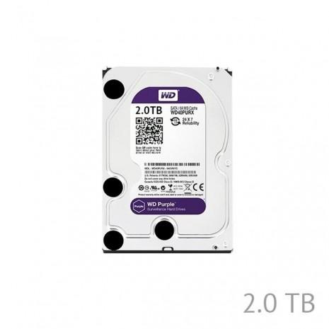 2TB Western Digital Surveillance Grade Hard Disk Drive 5400RPM SATA 6GB/S