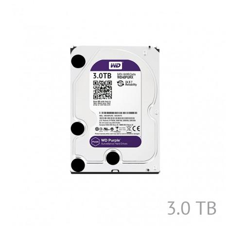 3TB Western Digital Surveillance Grade Hard Disk Drive 5400RPM SATA 6GB/S