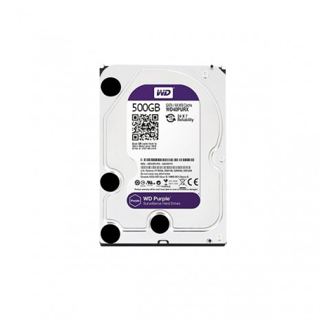 500GB Western Digital Surveillance Grade Hard Disk Drive 5400RPM SATA 6GB/S