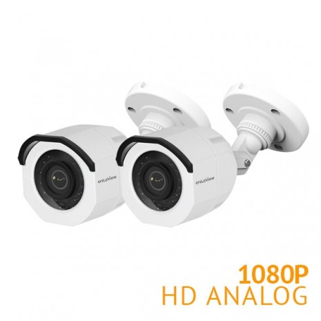 2x HD 1080P Bullet Security Camera