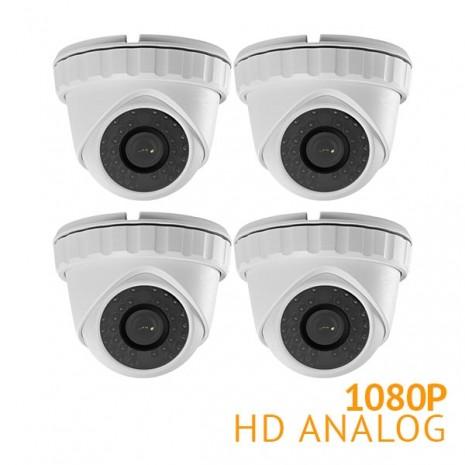 4x HD 1080P Turret Security Cameras