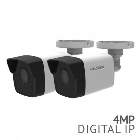 2x 4MP IP Bullet Camera