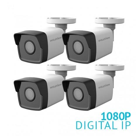 4x 1080P IP Bullet Camera