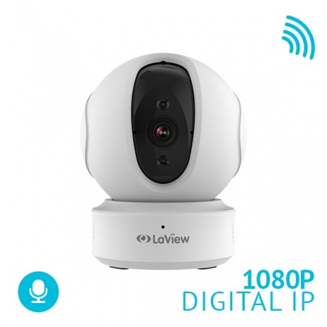 ONE PT 1080P Indoor Pan-Tilt Wi-Fi Security Camera