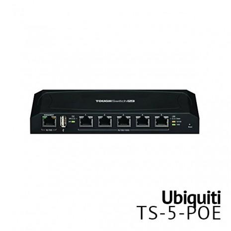 5 Port Managed PoE Switch